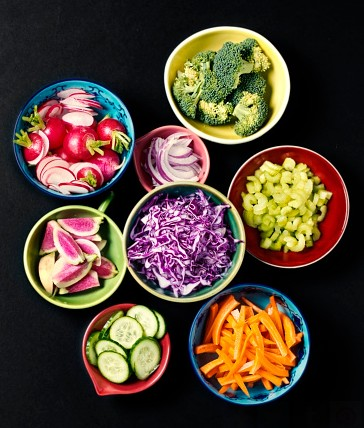 bols de legumes